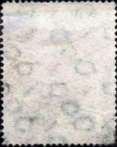 Filigrane K (Bizone Allemagne 1948 YT 65