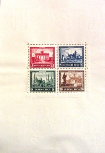 3 reich IPOSTA 1930 D aigle