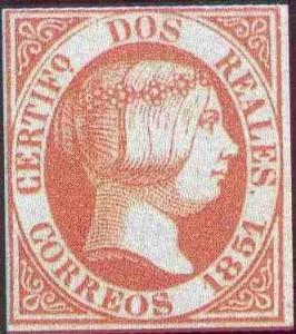 espagne isabelle II 1850