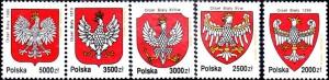 pologne aigle série795