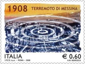 MESSINE_Timbre-terramoto 1908