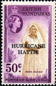 cyclone hattie Honduras b