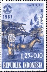 inondation indonésie 1967