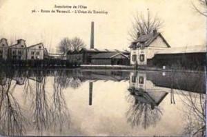 inondation oise 1910