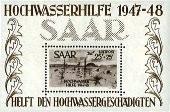 inondation sarre 1947