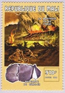 volcan montagne pelée 1902Martinique