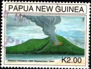 volcan papua