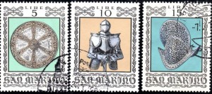 saint marin YT 865, 866, 867