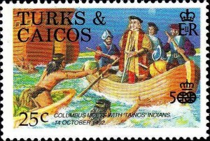 colomb accueil tainos